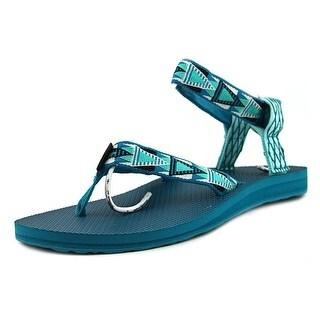 Teva Original Sandal W Open Toe Canvas Thong Sandal