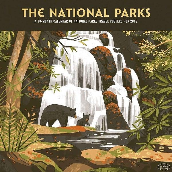 Shop 2019 National Parks Artwork 2019 Wall Calendar