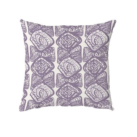 Cowry Cluster Throw Pillow