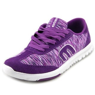 Etnies Lo-Cut SC Women Round Toe Leather Purple Sneakers