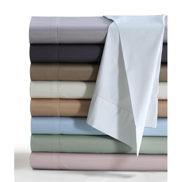 Egyptian Cotton 800 TC Deep Pocket Bed Sheet Set with Luxury-size Flat. Opens flyout.