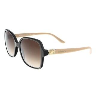 Bulgari BV8164B 897/13 Cocoa Square Sunglasses - 56-17-135