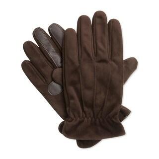 Isotoner Mens Winter Gloves Plush SmartTouch