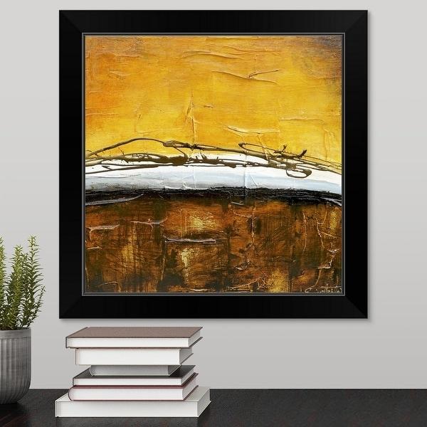 Erin Ashley Economy Framed Print with Standard Black Frame entitled Until morning series V