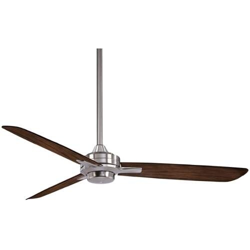 """MinkaAire Rudolph 52"""" 3 Blade Indoor Rudolph Ceiling Fan with Blades and Wall Control Included"""