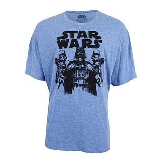 Star Wars Men's Fifth Sun Star Wars Basic Trio T-Shirt (XXL, Royal)