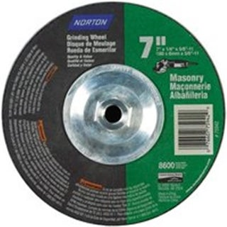 Norton 7660775942 Masonry Wheel 7 x .25 x .63 - 11 in.