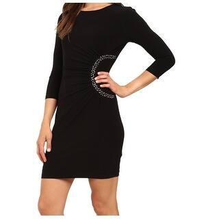 Jessica Simpson NEW Black Gold Studded Women's Size 4 Sheath Dress|https://ak1.ostkcdn.com/images/products/is/images/direct/0c1eabb02a6217de4d96bc5909f9c27496ce058e/Jessica-Simpson-NEW-Black-Gold-Studded-Women%27s-Size-4-Sheath-Dress.jpg?impolicy=medium
