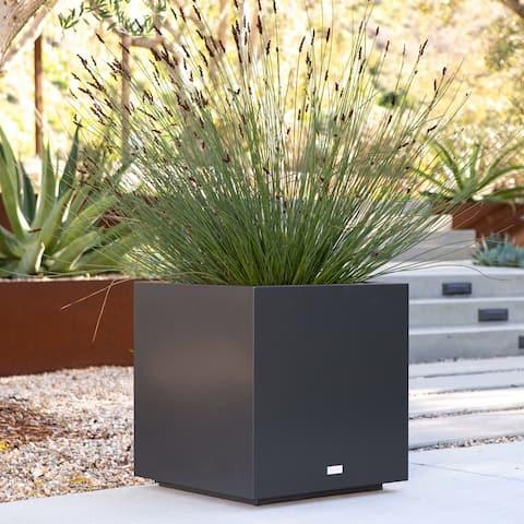 Metallic Series Cube Planter