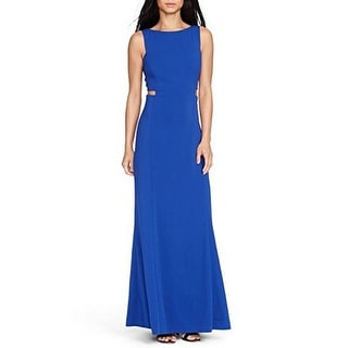 Link to Ralph Lauren Women's Cutout Crepe Gown Indigo (2) Similar Items in Dresses