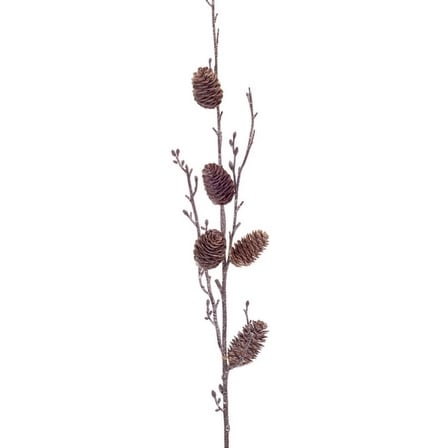 """Club Pack of 12 Brown Pine Cone Christmas Branch Sprays 36"""""""