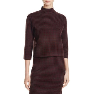 Theory Womens Sweater Stretch Elbow Sleeves