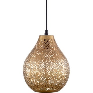 Link to Azle Modern Teardrop Metal 1-Light Pendant Similar Items in Pendant Lights