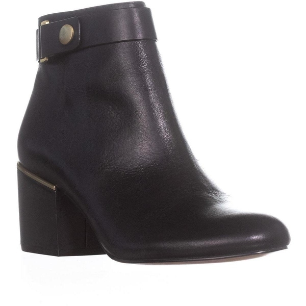 Calvin Klein Josey Harness Ankle Boots, Black - 9.5 us / 40 eu
