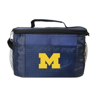 Michigan Wolverines Kolder Kooler Bag - 6pk - Blue