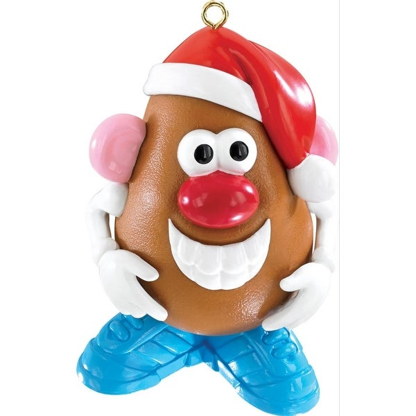 "3.25"" Carlton Cards Heirloom Mr. Potato Head Christmas Ornament - brown"