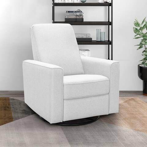 Abbyson Hampton Nursery Swivel Glider Recliner Chair