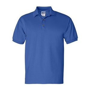Gildan Ultra Cotton Jersey Sport Shirt - Royal - L