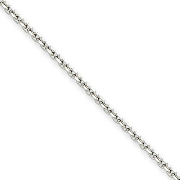 Chisel Stainless Steel 2.7mm 24 Inch Cable Chain (2.7 mm) - 24 in