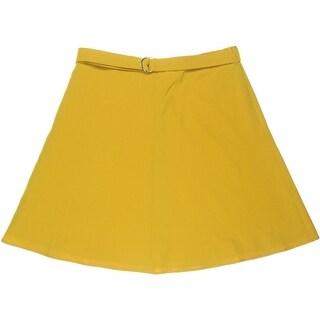 Nine West Womens Knee-Length Lined A-Line Skirt