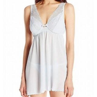 Link to Seductivewear Women Sleepwear White Size Large L Lace Rhinestone Chemise Similar Items in Intimates