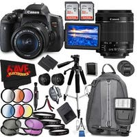Canon EOS Rebel T6i DSLR Camera with 18-55mm Lens + Accesory Bundle (Intl Model)
