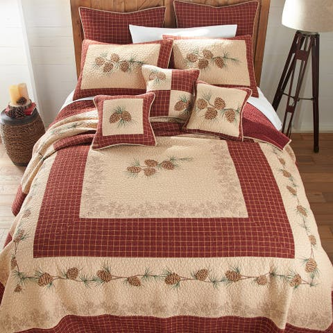 Donna Sharp Pine Lodge Quilt Set