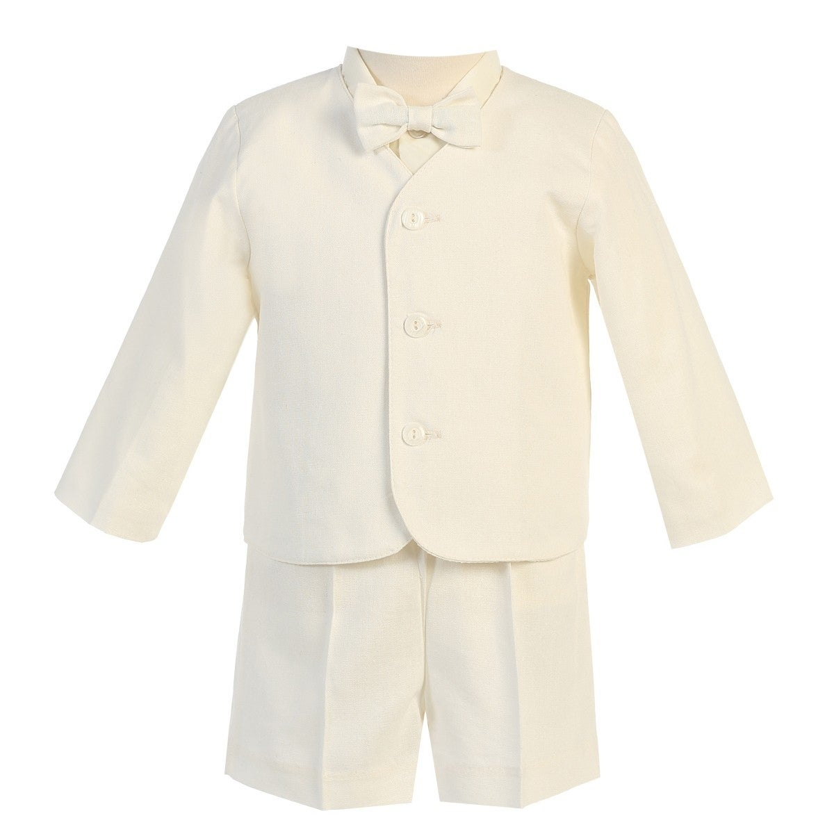 Lito Baby Boys Light Blue Eton Short Formal Ring Bearer Easter Suit 6-24M