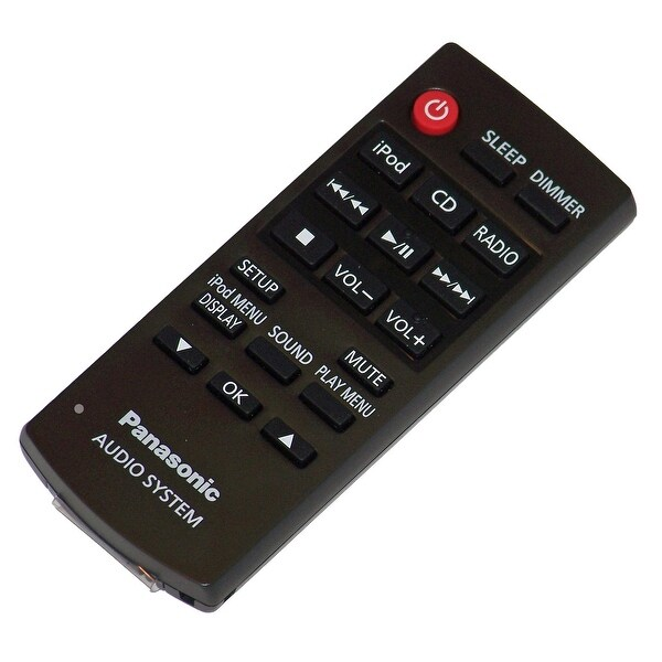 OEM Panasonic Remote Control Originally Shipped With: SC-HC28, SCHC28, SA-HC28, SAHC28
