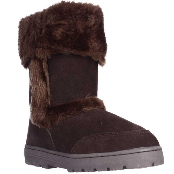 SC35 Witty Winter Boots, Dark Brown