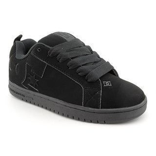 DC Shoes Court Graffik   Round Toe Leather  Skate Shoe