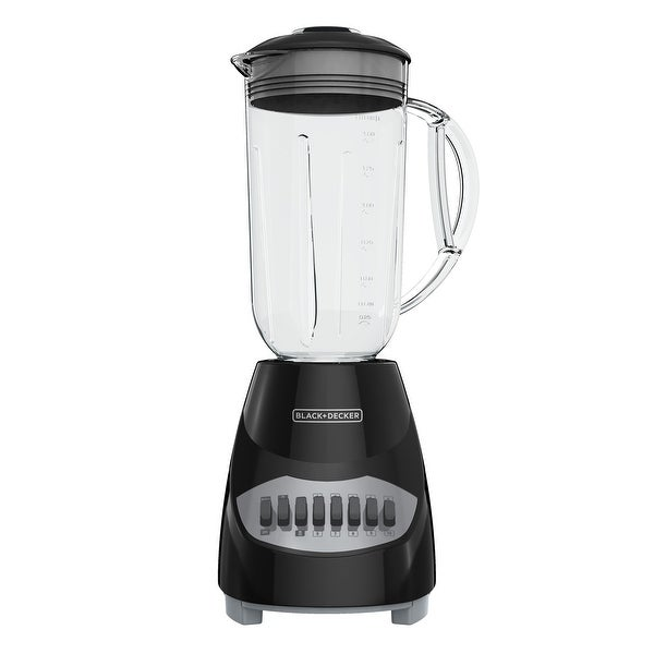 Black & Decker BL2010BPA 10-Speed Glass Blender, Black