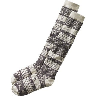 Legendary Whitetails Ladies Glistening Pines Boot Socks - frost gray