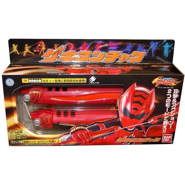 Power Rangers Bandai Sentai Gekiranger Gekinunchaku Red - multi
