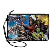 Guardians Of The Galaxy Guardians Of The Galaxy 5 Character Group2 Galaxy Canvas Zipper Wallet