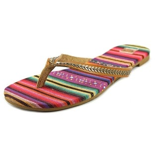 Roxy Tangier Open Toe Synthetic Flip Flop Sandal