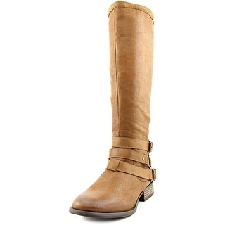 Coconuts By Matisse Frontera Pointed Toe Canvas Knee High Boot