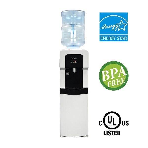 NewAir Pure Spring WAT20W BPA Free Hot/Cold Water Dispenser - White