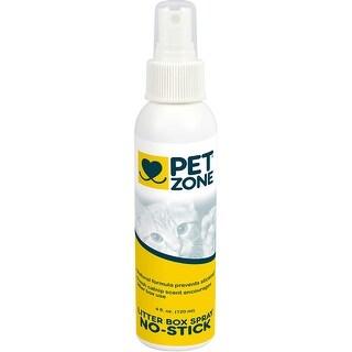 Pet Zone No Stick Litter Box Spray 4Oz-