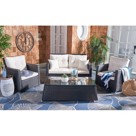Safavieh Outdoor Living Lorma 4-Piece Patio Set