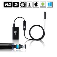 Indigi® Waterproof WiFi HD Borescope Inspection Endoscope Snake Cam - iOS & Android Compatible - 1 Meter - 6 LEDs