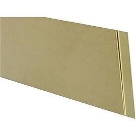 K&S .016X3/4X12 Brass Strip