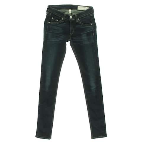 Rag & Bone Womens Skinny Jeans Stretch Low Rise