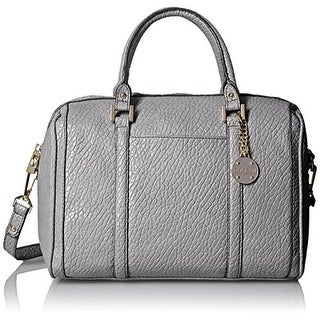 Rosetti Womens Ellie Faux Leather Convertible Satchel Handbag - Large