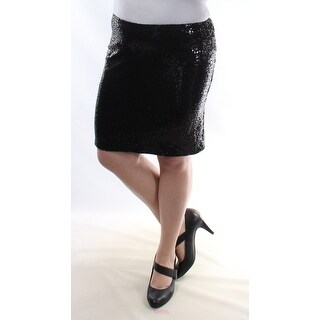 KENSIE Black Party Mini Body Con Skirt S B+B