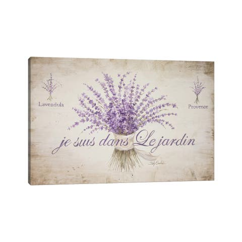 "iCanvas ""French Lavender"" by Debi Coules Canvas Print"