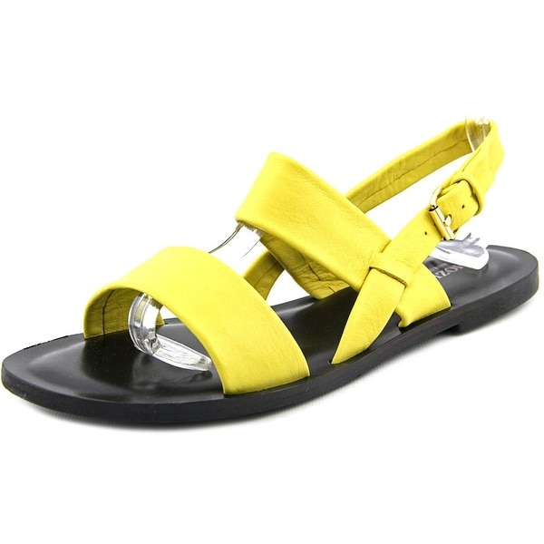 Emozioni W1350 Women Open-Toe Leather Slingback Sandal