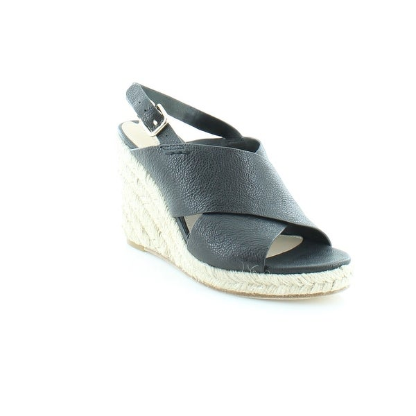 Via Spiga Rosette Women's Sandals & Flip Flops Blk - 9
