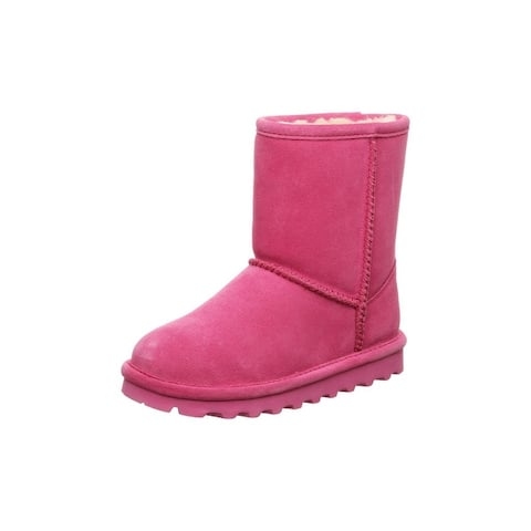 """Bearpaw Casual Boots Girls Elle Youth 7"""" Suede Upper"""