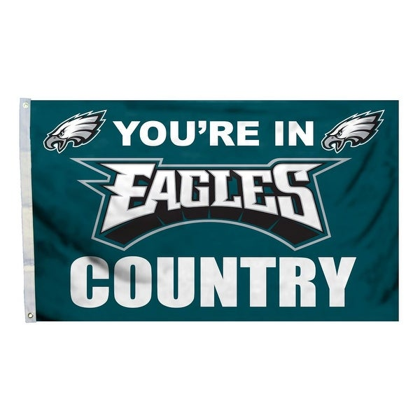 9834d4e4f Shop Philadelphia Eagles Flag 3x5 Country - Free Shipping Today - Overstock  - 22090757